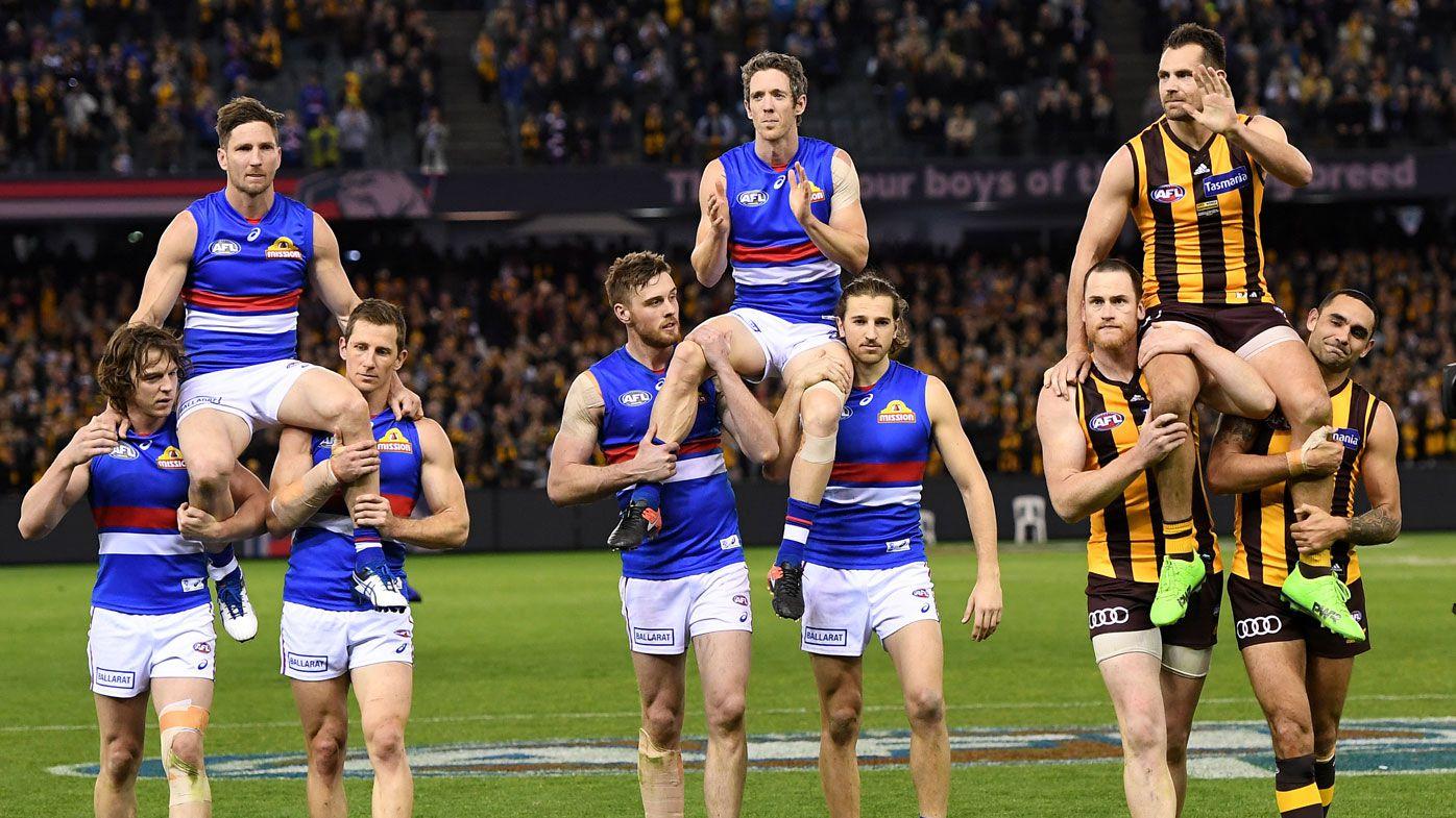 Hawks end Bulldogs' slim AFL finals hopes