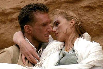 """<b>Why you should see it?</b> """"For those who have forgotten the depth of romance and passion that e movies are capable of conveying, <i>The English Patient</i> can remedy the situation. This powerful love story uses flawless performances, intelligent dialogue and crisp camera work to attain a level of eroticism and emotional connection that many similar films miss. Is <i>The English Patient</i> melodramatic? Of course, but it's the sort of finely-honed melodrama that embraces viewers rather than smothering them."""" - Reel Views"""