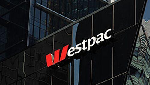 Westpac logo on building (Getty)