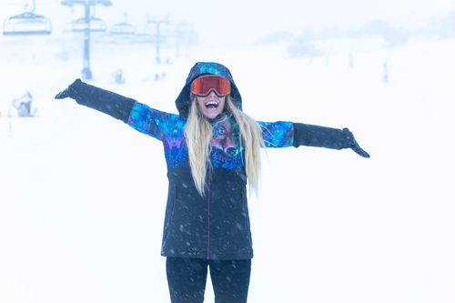 Up to 15cm of snow fell over Thredbo overnight, which has created ideal conditions for people travelling to the resort. Picture: Perisher.