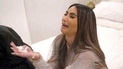 Kim Kardashian breaks down on Keeping Up With the Kardashians.
