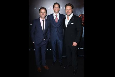 Dozens of celebs braved the Sydney rain for the <i>Man of Steel</i> Australian premiere, including Aussie stars <b>Russell Crowe</b> and <b>Bindi Irwin</b>! Not to mention some special surprise appearances by <i>Harry Potter</i>, <i>Home and Away</i> and <i>Buffy</i> stars!<br/><br/>Russell Crowe even invited his South Sydney Rabbitohs NRL entourage. Phwoar!<br/><br/>Flick through the pics to find out who else was there!