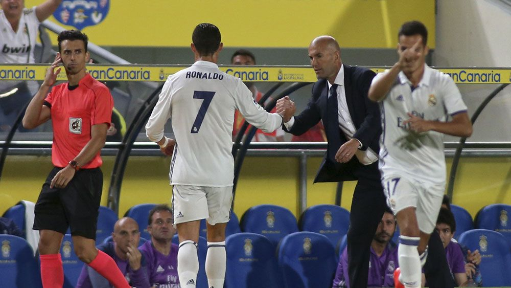 Football: Ronaldo has to live with being subbed - Zidane