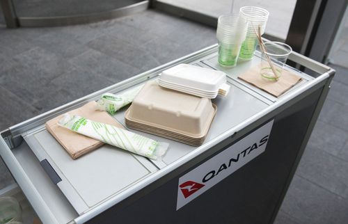 Qantas pledge to reduce waste and ditch single-use plastics
