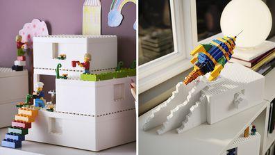 LEGO and IKEA storage range