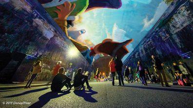 Disney Vivid Installation
