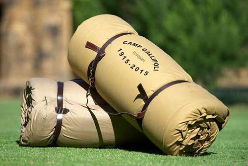 The Camp Gallipoli swag which starts at $275. (Camp Gallipoli)