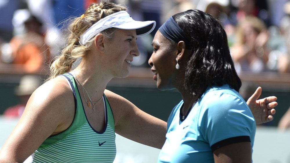 Victoria Azarenka and Serena Williams, tow of the leading players in the women's game. (AAP)