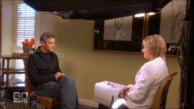 George Clooney was 'old school Hollywood', Liz Hayes recalls.