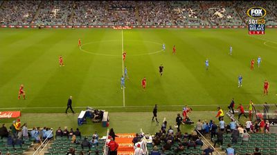 Sydney FC win FFA Cup inextra time against Adelaide, cheeky ball boy ignites scuffle