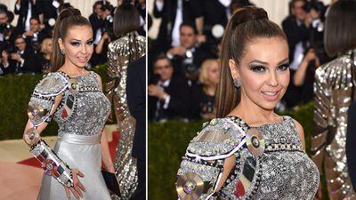 Singer Thalia. (AFP)
