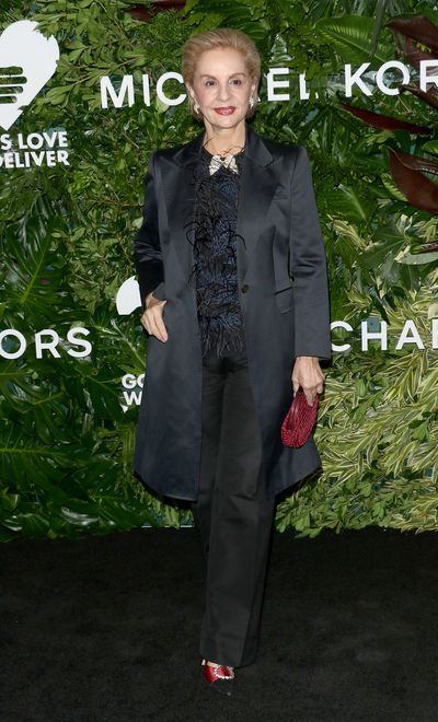 Carolina Herrera at the Annual God's Love We Deliver Golden Heart Awards in New York City