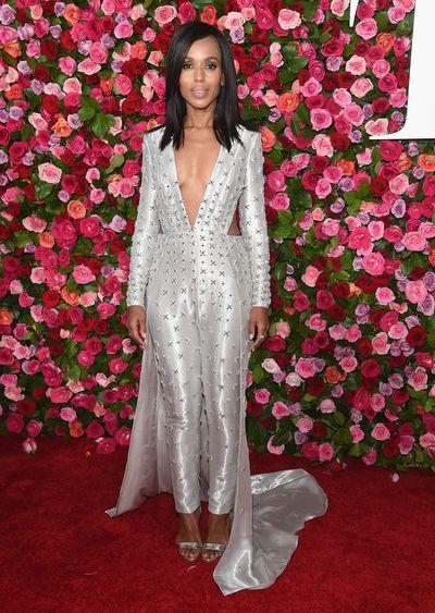 <em>Scanda</em>l actress Kerry Washington in Versace