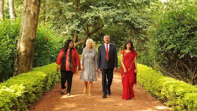 Prince Charles and Camilla reunited at exclusive health retreat in India for birthday
