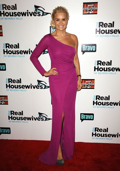 Yolanda Hadid at the Real Housewives of Beverly Hills' Season 3 premiere party in Los Angeles, October 2012