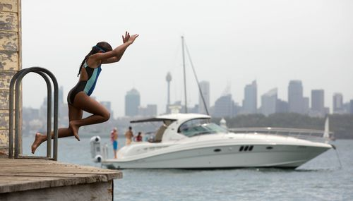 Temperatures will take a dive in the Harbour City from Wednesday. (AAP)