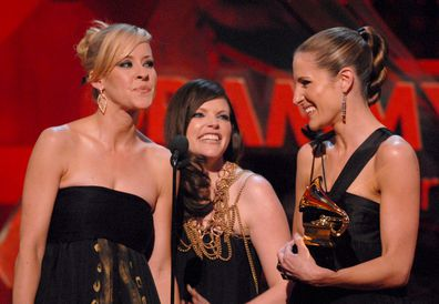 The Chicks, Grammy, 2013, Martie Maguire, Natalie Maines and Emily Robison