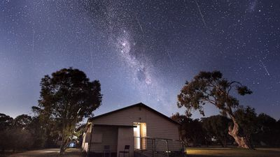 "<b>It was an impressive sight for stargazers who managed to capture photos of the annual Geminid meteor shower last night.</b><br><br> This image of the celestial firework display was taken in Gippsland in Victoria. (Picture: <a href=""http://www.andrewnorthover.com.au"">www.andrewnorthover.com.au</a>) <br><br> Click through the gallery to see more photos of the meteor shower. Send your pictures to <a href=""mailto:contact@9news.com.au"">contact@9news.com.au</a>."