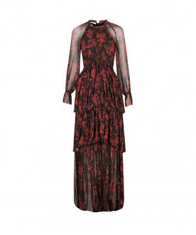 "<strong><a href=""https://morrisonshop.com/dresses/phoebe-maxi-dress-dahlia.html"" target=""_blank"">Morrison </a></strong>dahlia dress, $499<br />"