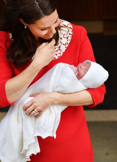 The world meets Prince Louis on the hospital steps