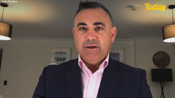 NSW Nationals Leader John Barilaro told Today he has tested negative for COVID-19.