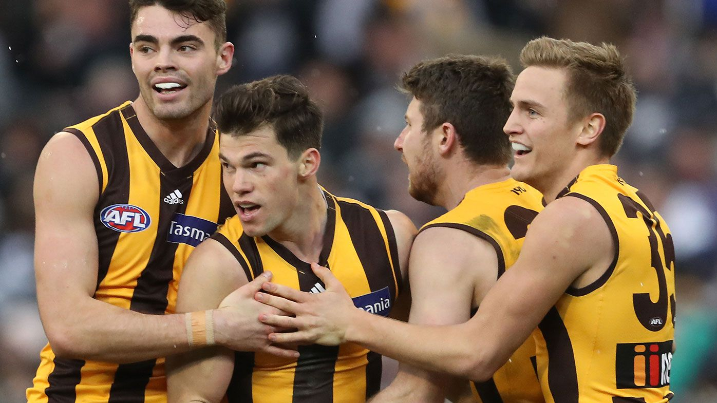 Jaeger O'Meara kicks the sealer in latest Hawthorn-Geelong blockbuster