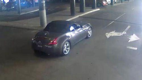 The grey Nissan that was stolen last week. (Victoria Police)