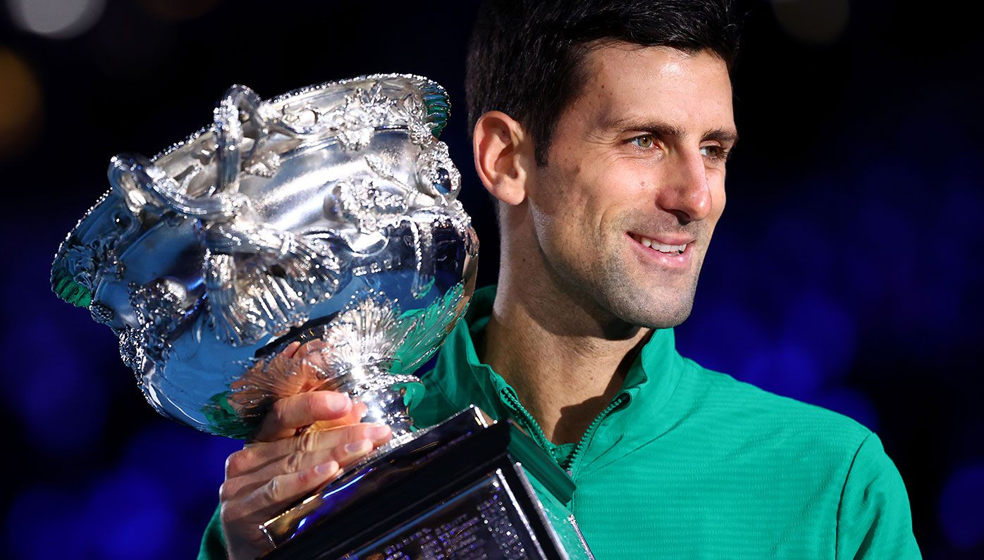 Novak Djokovic is the defending Australian Open champion.