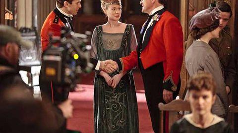 Downton Abbey creator at work on third season