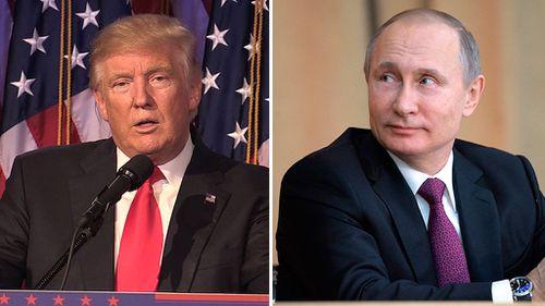 Trump to speak with Putin, Hollande, Merkel by phone this weekend
