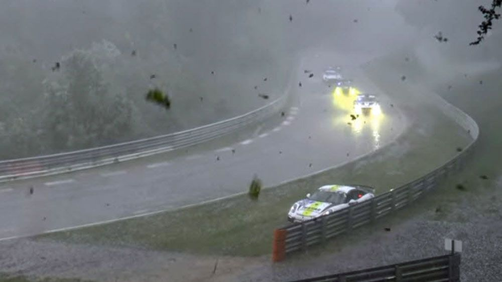 Wild storm turns famous race into fight for survival