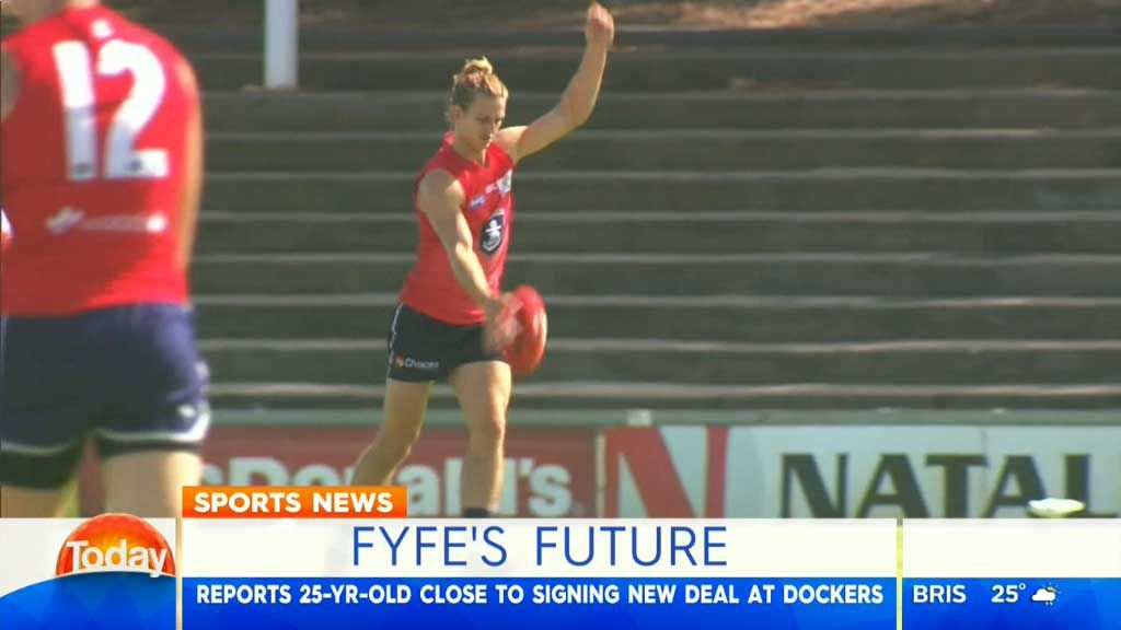 Fyfe closes in on new Dockers deal