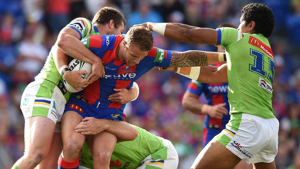 Newcastle, Canberra in gutsy NRL draw