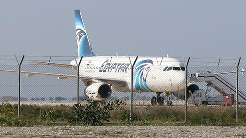 An Egyptian airliner has been hijacked and diverted to Cyprus, triggering a hostage situation at Larnaca airport.