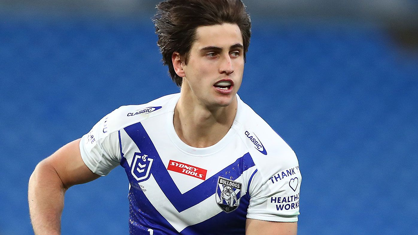 Lachlan Lewis' contract terminated by Bulldogs after alleged speaker incident