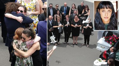'My broken heart will miss her': Loved ones farewell Jessica Falkholt