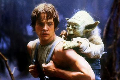 """<b>Back in the 80s... </b>Mark was kicking serious Dark Side behind as Luke Skywalker in <i>The Empire Strikes Back</i> and <i>Return of the Jedi</i>… then he discovered the joys of typecasting. His first post-<i>Jedi</i> outing, the sci-fi flick <i>Slipstream</i>, was deemed so terrible that it wasn't even released in American theatres.<br/><br/>MusicFIX: <a href=""""http://music.ninemsn.com.au/slideshowajax/207137/80s-fashion-amazing-tragic-pop-style.slideshow"""">Amazing/tragic 80s fashion!</a>"""