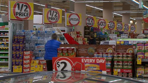 Coles is also revamping its supermarkets into small convenient stores similar to Woolworths Metro Mini Shops. Picture: 9NEWS