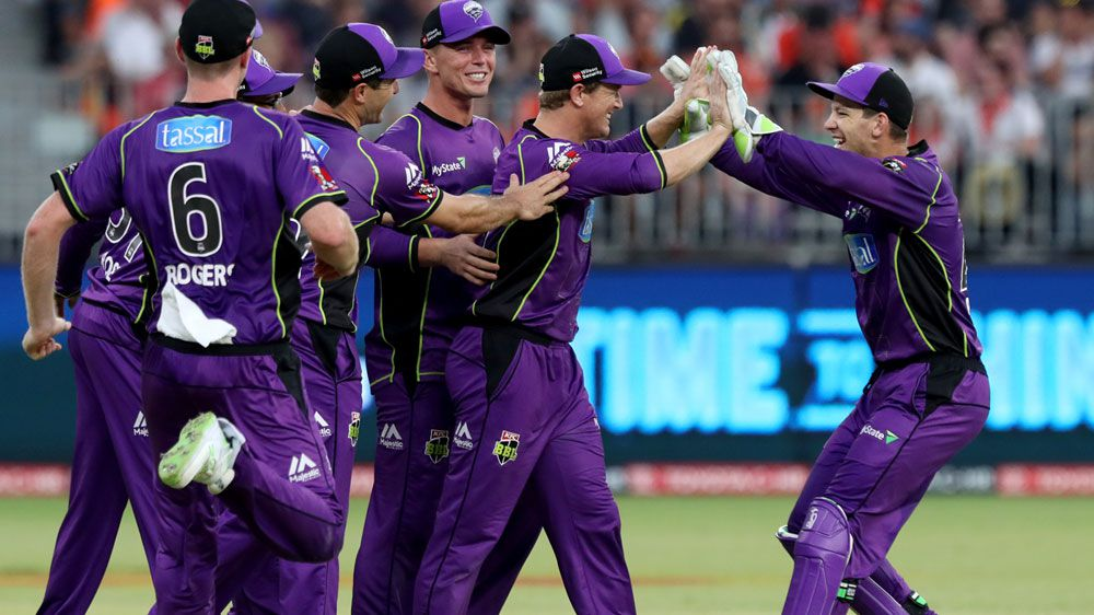 Hobart Hurricanes torch Scorchers to reach BBL final