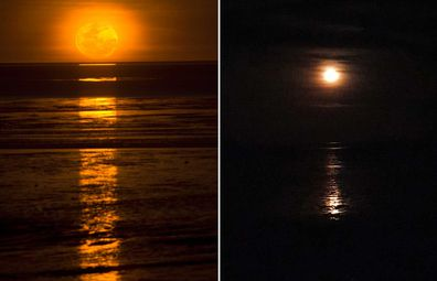 Photographing the natural phenomenon known as 'Staircase to the Moon' which occurs from March to October in Broome, WA