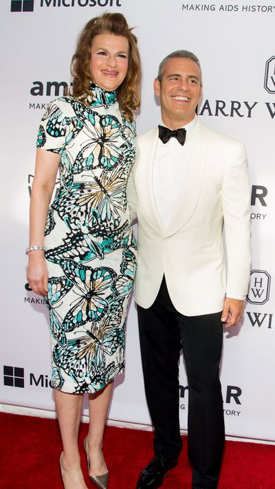 <p>Sandra Bernhard and Andy Cohen</p>