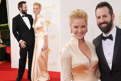<i>State of Affairs</i>' Katherine Heigl had some laughs with her singer hubby Josh Kelley. Probably more laughs than we've had with any of her recent rom-coms!