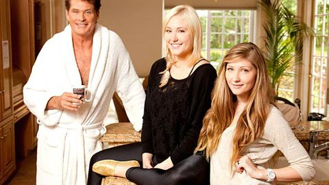 David Hasselhoff trades places with... David Hasselhoff