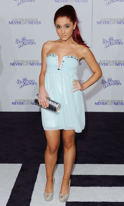 Ariana Grande at the Los Angeles Premiere of <em>Justin Bieber: Never Say Never</em>, February, 2011