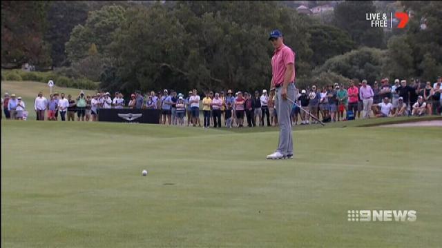 Ogilvy takes control of Australian Open