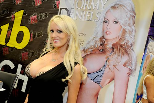 Actress Stormy Daniels. (AAP)