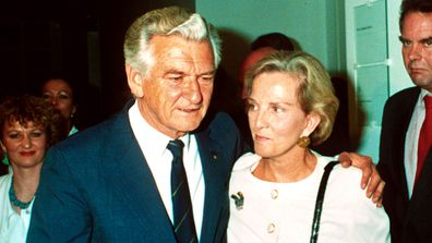 The women behind Bob Hawke