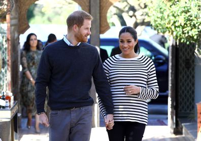 Prince Harry and Meghan Markle preparing for birth of royal baby