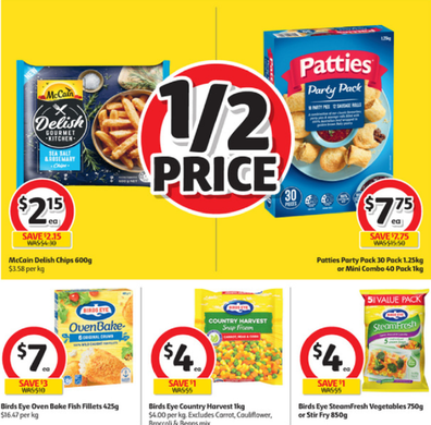There are so many great meal solutions in the Coles frozen food section this week.