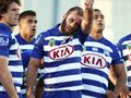 'We had Canterbury fans leaving with 25 to go'